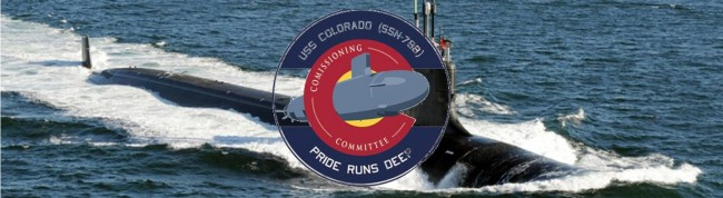 USS Colorado Page Header